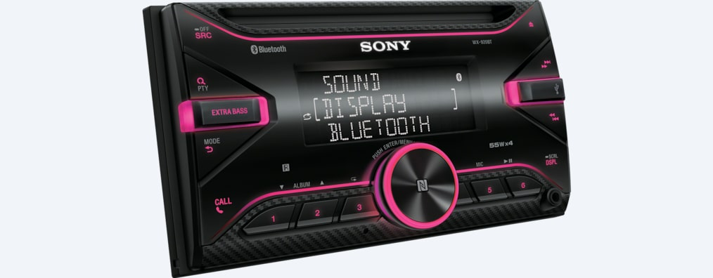 Images de Autoradio CD avec technologie BLUETOOTH®