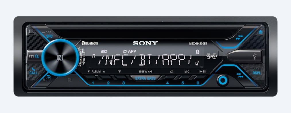 Images de Autoradio CD avec technologie sans fil BLUETOOTH®