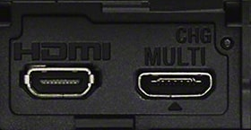HDMI + multiterminal