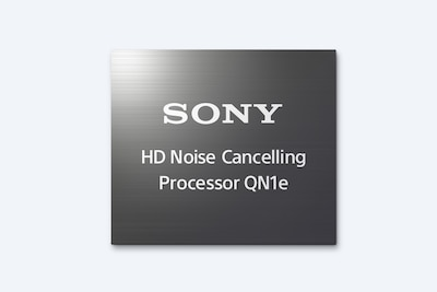 Logo du processeur HD de réduction du bruit QN1e de Sony