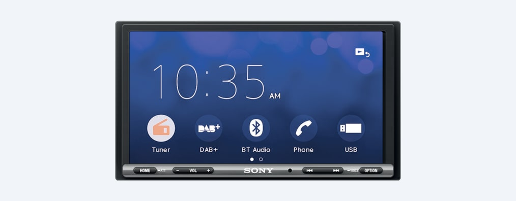 Images de Autoradio DAB de 17,6 cm (6,95 pouces) avec Apple CarPlay/Android Auto™