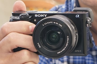 Appareil photo de type E Sony