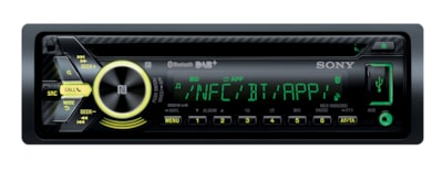 Images de Autoradio CD et radio DAB avec technologie sans fil Bluetooth®